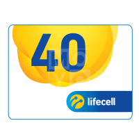 Ваучер lifecell 40грн.
