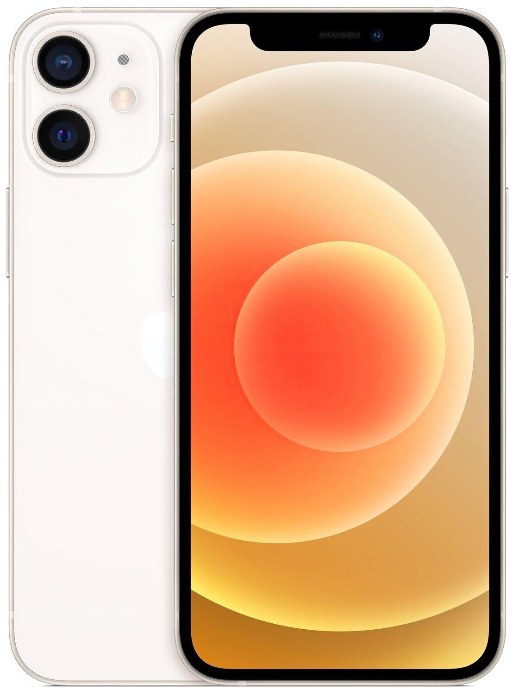 Смартфон Apple iPhone 12 mini 128GB White (MGE43) фото 1