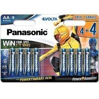 Батарейка Panasonic EVOLTA AA 8 шт. Power Rangers (LR6EGE/8B4FPR)