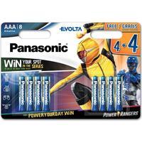 Батарейка Panasonic EVOLTA AAA 8 шт. Power Rangers (LR03EGE/8B4FPR)