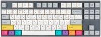 Игровая клавиатура Varmilo VA87M CMYK Cherry MX Blue (VA87MC2W/LLK12RB)