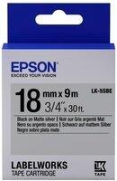 Картридж Epson LK5SBE для принтеров LW-400/400VP/700 Matte Blk/MattSiv 18mm/9m (C53S655013)