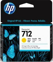Картридж HP No.712 DesignJet Т230/Т630 Yellow 29ml (3ED69A)