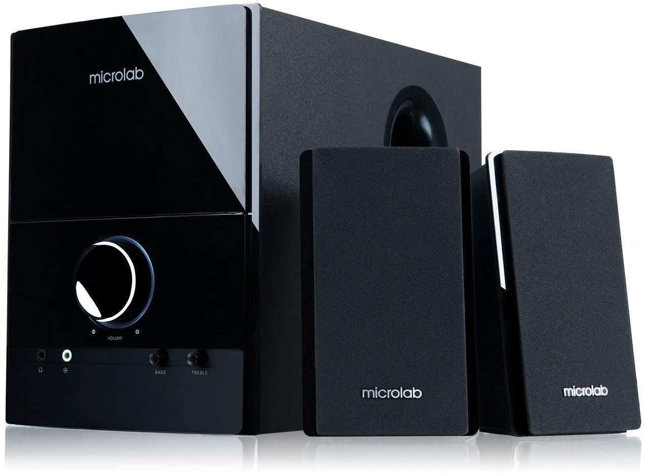 Акустична система MICROLAB M-500 2.1 Blackфото1