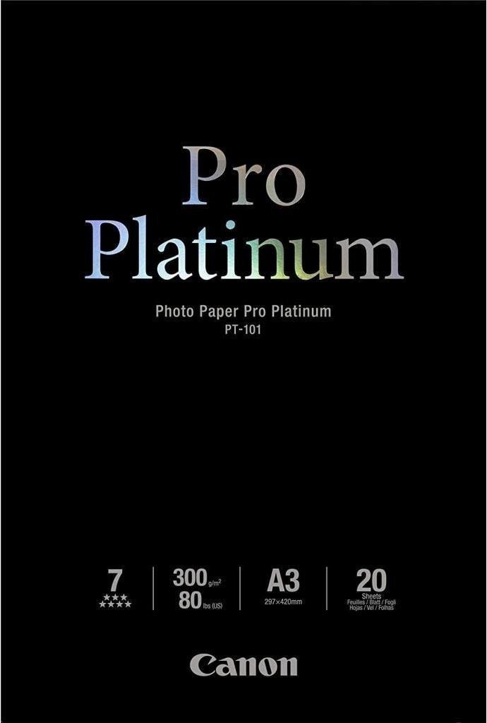 Бумага Canon A3+ Pro Platinum Photo Paper PT-101, 20л (2768B017) фото