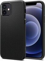 Чехол Spigen для iPhone 12/12 Pro Liquid Air Matte Black (ACS01701)