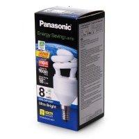 Энергосберегающая лампа PANASONIC 8W (40W) 6500K E14