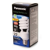 Энергосберегающая лампа PANASONIC 22W (125W) 6500K E27
