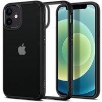 Чехол Spigen для iPhone 12 mini Crystal Hybrid Matte Black