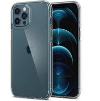 Чехол Spigen для iPhone 12 Pro Max Crystal Hybrid Crystal Clear (ACS01476)