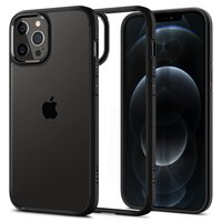 Чехол Spigen для iPhone 12 Pro Max Crystal Hybrid Matte Black (ACS01477)