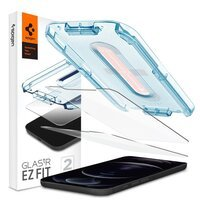 Захисне скло Spigen для iPhone 12 Pro Max tR EZ Fit (2Pack)