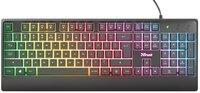 Клавиатура Trust Ziva Gaming Rainbow LED Black (24032_TRUST)