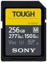 Карта памяти Sony 256GB SDXC C10 UHS-II U3 V60 R277/W150MB/s Tough (SFM256T.SYM)
