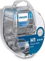 Лампа галогенная Philips H1 WhiteVision Ultra