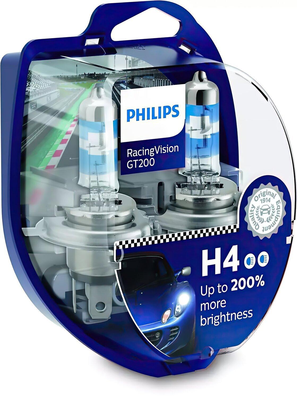 Лампа галогенная Philips H4 RACING VISION фото