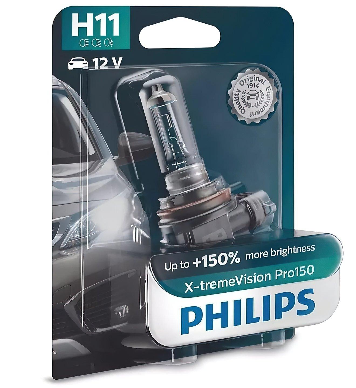 Лампа галогенная Philips H11 X-treme VISION PRO фото 1