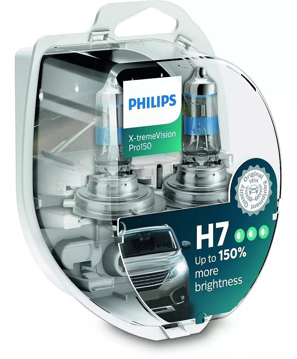 Лампа галогенная Philips H7 X-treme VISION PRO фото 1