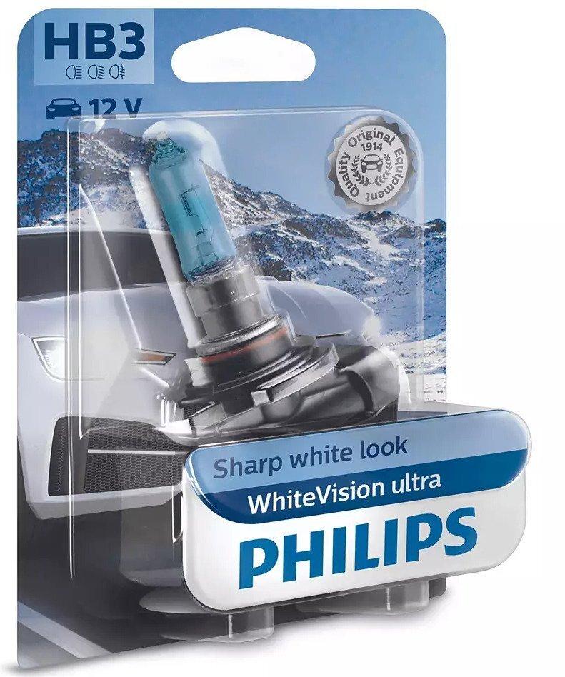 Лампа галогенная Philips HB3 WhiteVision Ultra фото 1