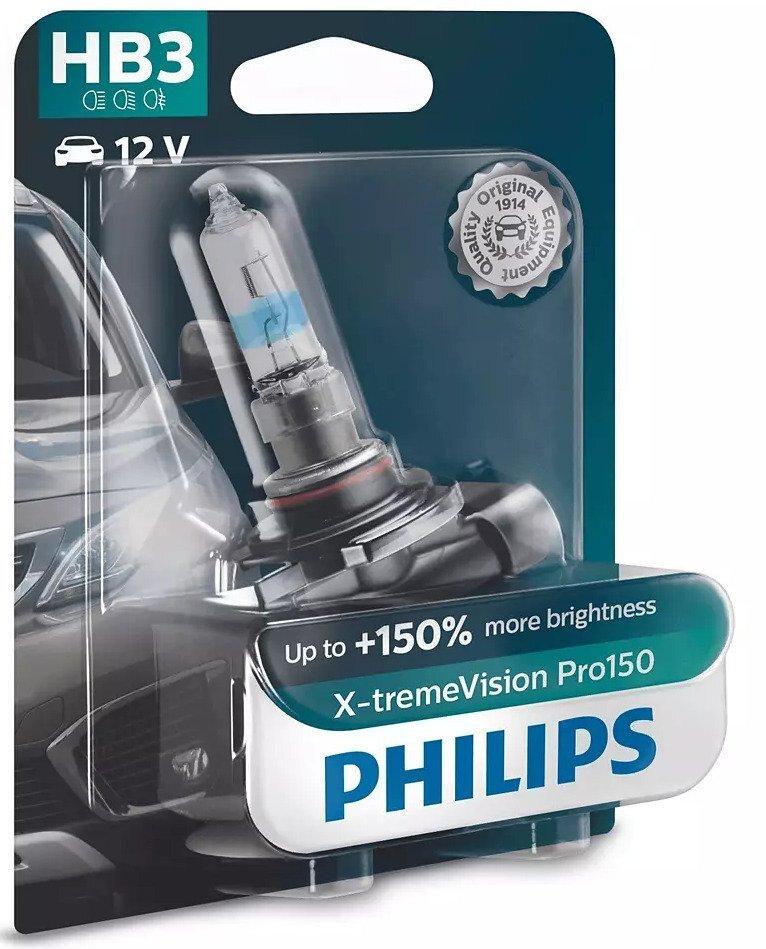 Лампа галогенная Philips HB3 X-treme VISION PRO фото 1