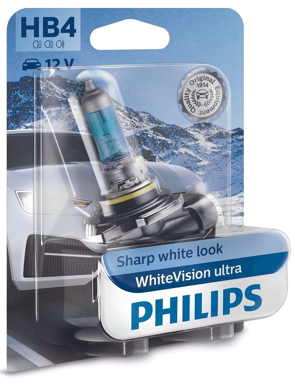 Лампа галогенная Philips HB4 WhiteVision Ultra фото