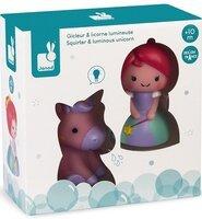 Набір іграшок для купання Janod Принцеса і єдиноріг (J04706)