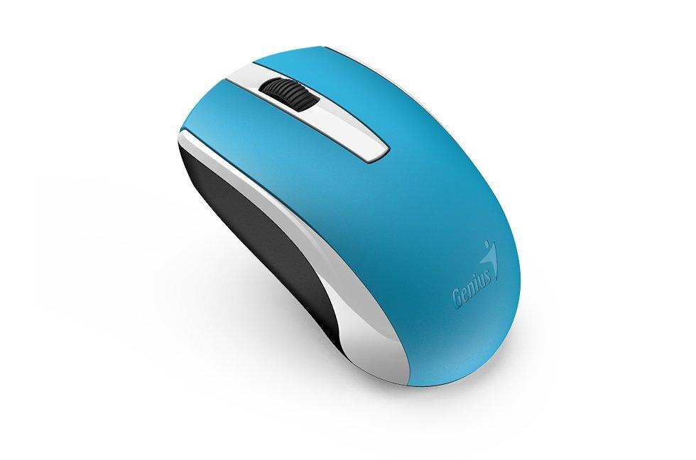 Миша Genius ECO-8100 NiMH, Blue (31030010406) фото