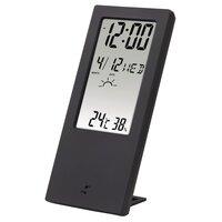 Термометр/гігрометр HAMA TH-140, з індикатором погоди, black