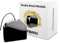 Розумне реле Fibaro Smart Module, Z-Wave, чорний (FGS-214)