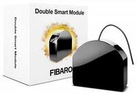 Розумне реле Fibaro Relay Switch 2x1.5kW, Z-Wave, 230V, чорний (FGS-224)