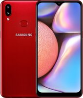 Смартфон Samsung Galaxy A10s Dark Red