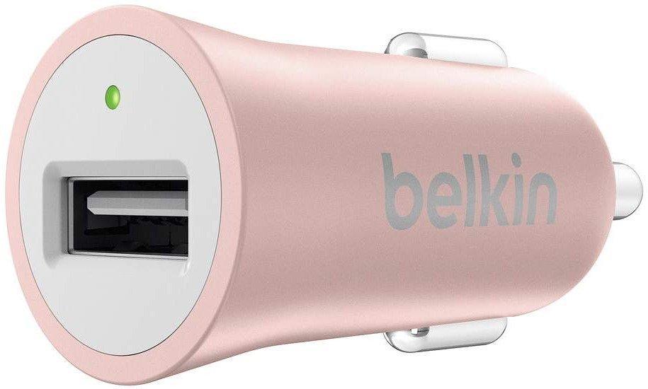 Автомобильное зарядное устройство Belkin Mixit Premium 2.4A Rose Gold (F8M730BTC00) фото