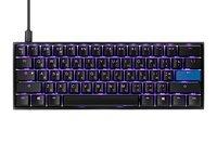 Игровая клавиатура Ducky Mecha Mini Cherry Blue Aluminium Black case (DKME2061ST-CURALAAT1)