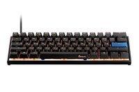 Игровая клавиатура Ducky Mecha Mini Cherry Red Aluminium Black case (DKME2061ST-RURALAAT1)