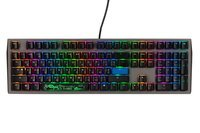 Игровая клавиатура Ducky Shine 7 Cherry Silent Red Grey-Black (DKSH1808ST-SURALAHT1)