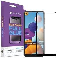 Защитное стекло MakeFuture для Galaxy A21s Full Cover Full Glue (MGF-SA21S)