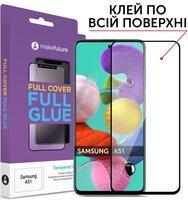 Защитное стекло MakeFuture для Galaxy A51 Full Cover Full Glue (MGF-SA51)