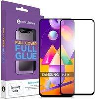 Защитное стекло MakeFuture для Galaxy M31s Full Cover Full Glue (MGF-SM31S)