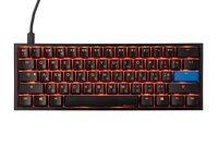 Игровая клавиатура Ducky One 2 Mini Cherry Silent Red Black-White (DKON2061ST-SURALAZT1)