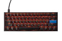 Игровая клавиатура Ducky One 2 Mini Cherry Silent Red Black-White (DKON2061ST-SURALAZT1)