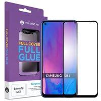 Защитное стекло MakeFuture для Galaxy M51 Full Cover Full Glue (MGF-SM51)