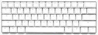 Игровая клавиатура Ducky One 2 Mini Cherry Blue White (DKON2061ST-CURALWWT1)