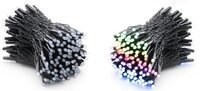 Smart LED Гирлянда Twinkly Pro Strings RGB 250, одинарная линия, AWG22, IP65, черный