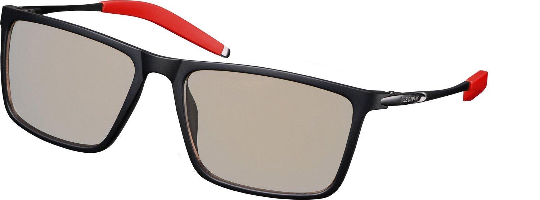 Защитные очки 2Е Gaming Anti-blue Glasses Black-Red (2E-GLS310BR) фото 1