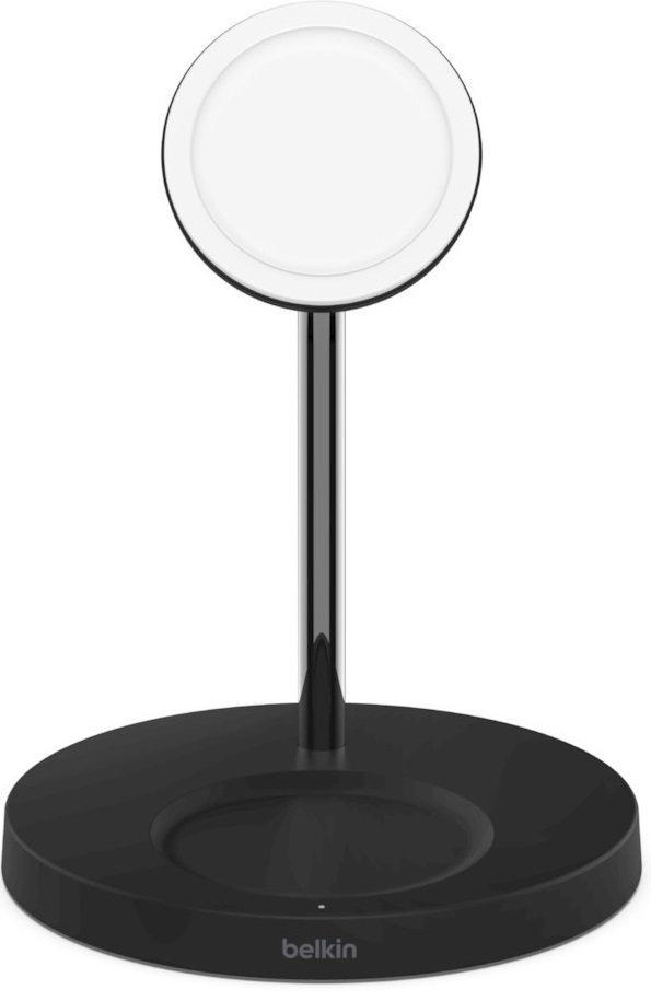 Беспроводное ЗУ Belkin MagSafe 2-in-1 Wireless Charger Black (WIZ010VFBK) фото 1