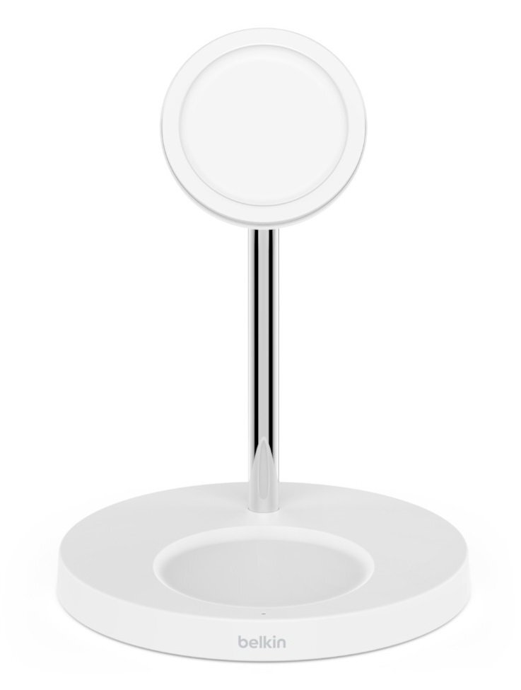 Беспроводное ЗУ Belkin MagSafe 2-in-1 Wireless Charger White (WIZ010VFWH) фото 1