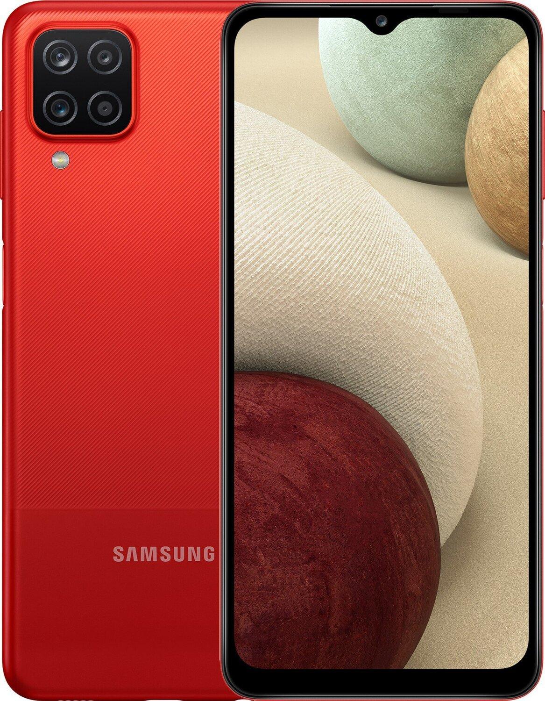 Смартфон Samsung Galaxy A12 3/32Gb Redфото