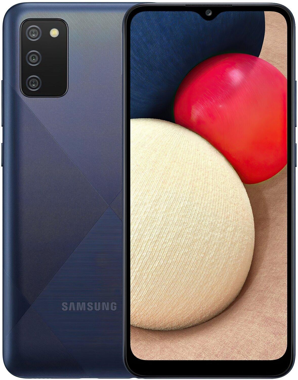 Смартфон Samsung Galaxy A02s Blue фото