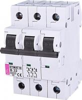 Авт. выключатель ETI ETIMAT 10 3p B 32А (10 kA)
