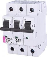 Авт. выключатель ETI ETIMAT 10 3p B 63А (6 kA)